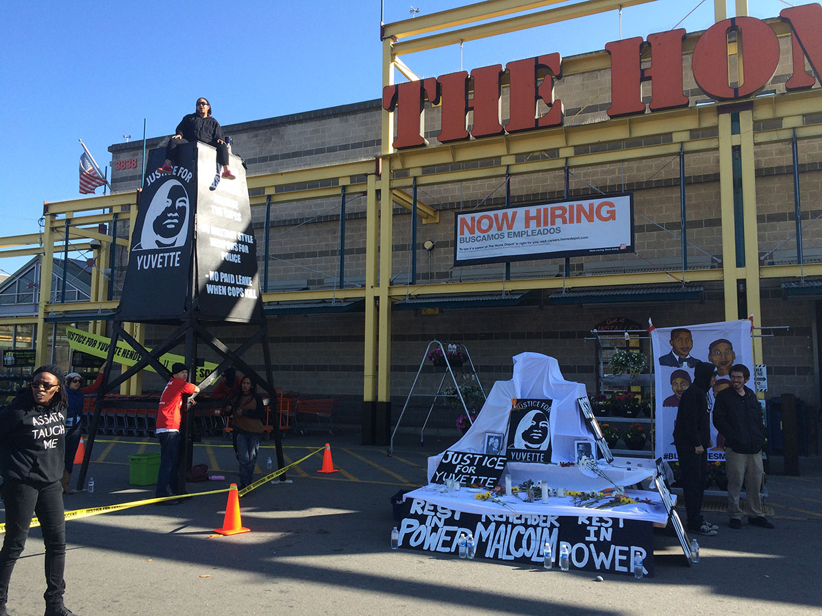 Home Depot Emeryville Protest
