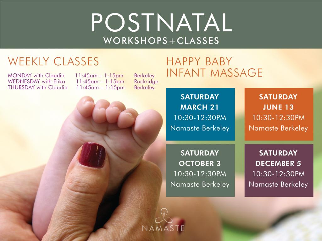 listing massage community event